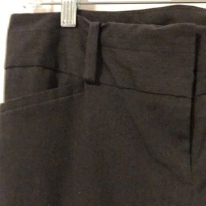 The Limited charcoal grey trousers